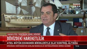 Denizbank Genel Müdürü Ateş'ten dolar yorumu