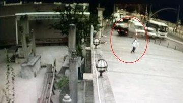 Üsküdar'da feci kaza! Otomobil sürücüsü ağır yaralandı