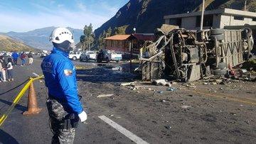 Ekvador'da katliam gibi kaza: 23 ölü, 14 yaralı