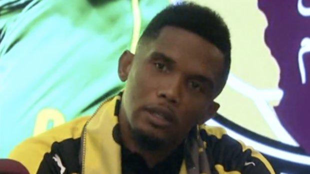 Samuel Eto'o Katar yolcusu