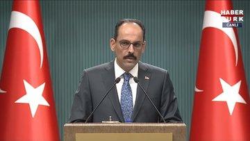 Cumhurbaşkanlığı Sözcüsü Kalın'dan Türkiye-ABD ilişkileri hakkında açıklama