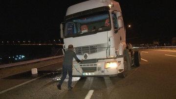 Ankara'da elektrik direği devrildi, kazalar peş peşe geldi