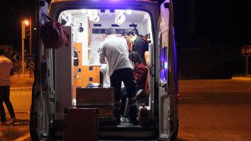 Sivas'ta trafik kazası: 11 yaralı