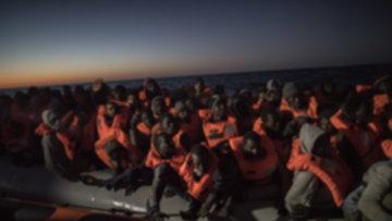Göçmenlerin günler süren esareti sona erdi