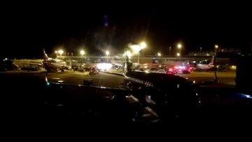 Washington'da havaalanı karanlıkta kaldı