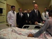 Bakan Soylu'dan yaralı askerlere ziyaret