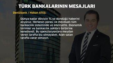 Türk bankalarının mesajları