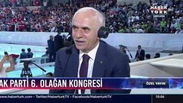 AK Parti Genel Başkan Yardımcısı Erol Kaya, kongre gündemini değerlendirdi