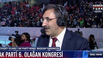 AK Parti Genel Başkan Yardımcısı Cevdet Yılmaz: AK Parti ve Türkiye'nin geleceği birbiriyle bağlı