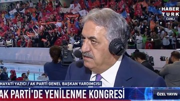 AK Parti Genel Başkan Yardımcısı Hayati Yazıcı: AK Parti'nin güçlü bir duruşu var