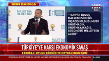 Erdoğan şiir okudu