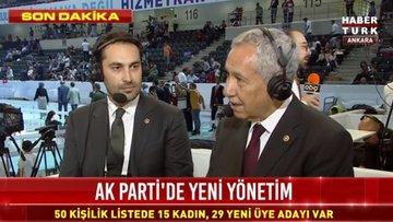 Bülent Arınç, Habertürk TV'de kongre gündemini değerlendirdi