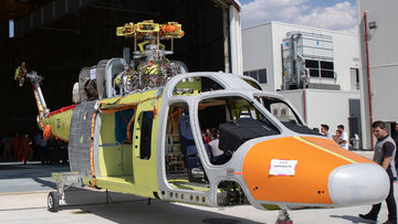 Tamamen yerli T625'in ilk prototipi üretildi