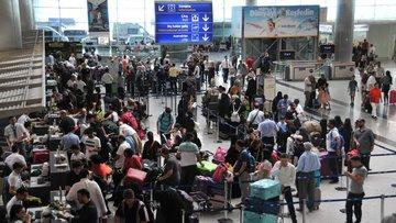 Havalimanlarında bayram rekoru