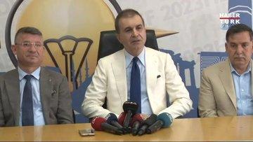 AK Parti Sözcüsü Ömer Çelik'ten ABD Büyükelçiliği'ne yapılan saldırıya ilişkin açıklama