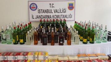Başakşehir'de sahte içki operasyonu