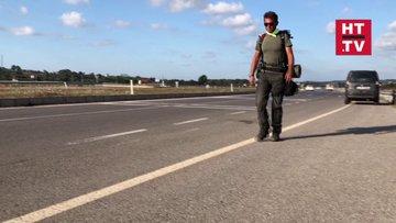 2 bin 100 kilometrelik yürüyüş! Artvin'den İstanbul'a yürüyor