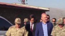 İçişleri Bakanı Soylu, Kato Dağı'ndaki askerlerle bayramlaştı