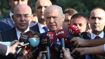 Bahçeli'den erken seçim açıklaması: Türkiye'yi kaosa sürüklemek olur