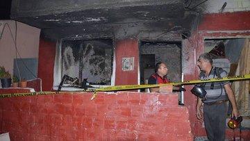 İki katlı bir evde çıkan yangında 1 çocuk öldü