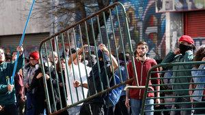 Şili'de 'çalışma saati' protestosu
