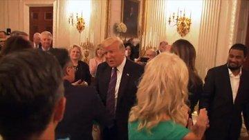 Trump'tan evanjelist liderlere akşam yemeği