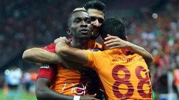 Galatasaray'dan gol şov