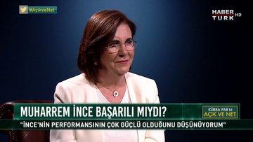 Açık ve Net - 30 Ağustos 2018 (CHP Parti Meclisi Üyesi Prof. Dr. Gaye Usluer)