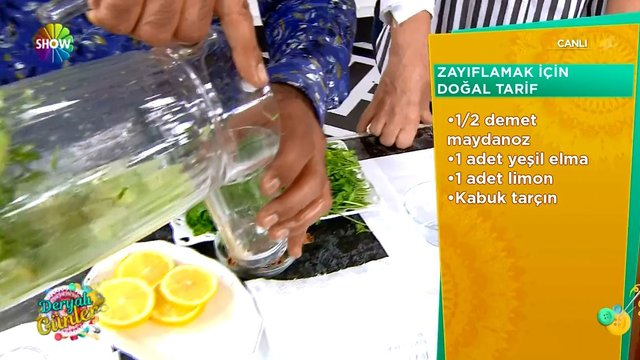 Zayıflamak için doğal içecek!