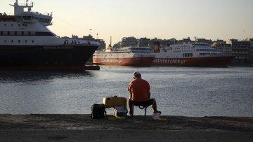 Yunanistan'da denizciler grevde!