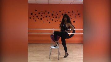 Selen Görgüzel'in dansı sosyal medyayı salladı!