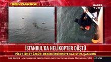 Maltepe açıklarında helikopter düştü!