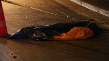 Kağıthane tünelinde motosiklet kazası