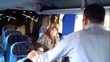 Yolcu otobüsünde 'mazot parası' krizi!