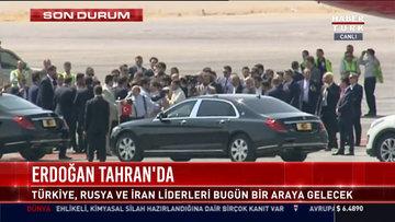 Erdoğan Tahran'da