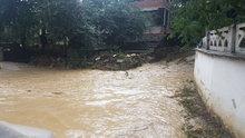 Tokat'ta sağanak yağmur sele yol açtı!