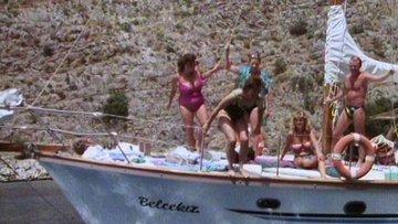 1989'da Ege kıyılarında tatil