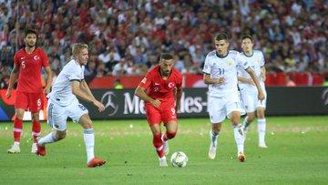 Türkiye - Rusya maçından kareler