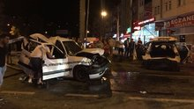 Trabzon'da zincirleme trafik kazası