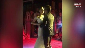Mert Fırat ile İdil Fırat'ın düğün dansı geceye damga vurdu!