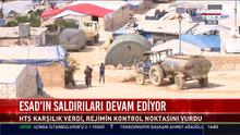 İdlib'de hava saldırıları devam ediyor