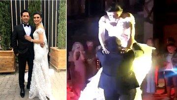 Mert - İdil Fırat çiftinin düğününden ilk görüntüler!