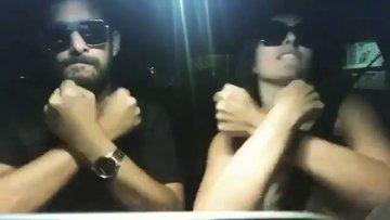 Ezgi Mola ile Enis Arıkan'dan Aleyna Tilki videosu