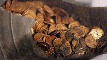 İtalya'da 1600 yıllık sikke bulundu