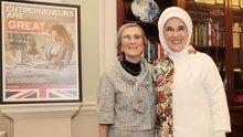 Emine Erdoğan'a Londra'da ödül