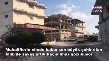 İdlib halkı kara operasyonu için kendini hazırlıyor