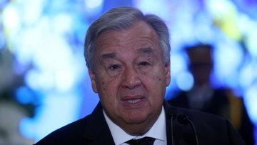 Guterres'ten ABD açıklaması