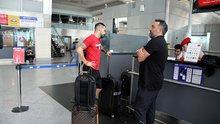 Negredo, İstanbul'dan ayrıldı