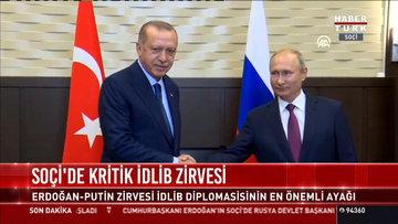 Soçi'de İdlib zirvesi