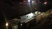 Afyonkarahisar'da otobüs kazası: 25 yaralı